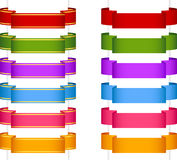 Ribbon banner collection 2 Royalty Free Stock Images