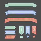 Ribbon banner Royalty Free Stock Photography