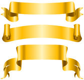 Ribbon banners Royalty Free Stock Image