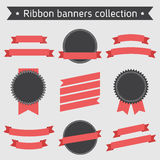 Ribbon Banners Collection Royalty Free Stock Image