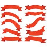 Ribbon. banners, labels set Royalty Free Stock Photo