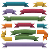 Ribbon banners Royalty Free Stock Image