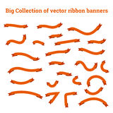 Ribbon banners vector collection templates Stock Image