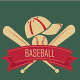 Ribbon of baseball Royalty Free Stock Photography