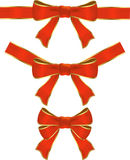 Ribbon with bow Stock Image