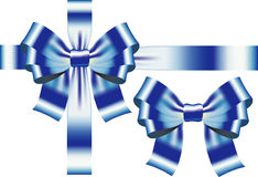 Ribbon with bow Royalty Free Stock Images