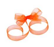Ribbon bow Stock Image