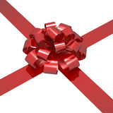Ribbon and bow Royalty Free Stock Images