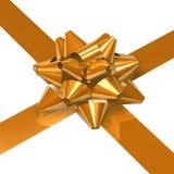 Ribbon and bow Royalty Free Stock Photo