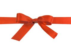 Ribbon Bow Stock Photo