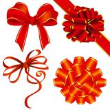 Ribbon and bow decoration Royalty Free Stock Photos