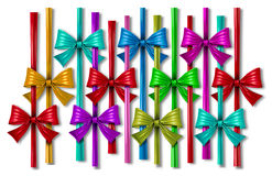 Ribbon Bow Design Element Royalty Free Stock Photos