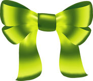Ribbon with bow illustration Stock Photo