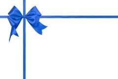 Ribbon bow isolated on white background Royalty Free Stock Photography
