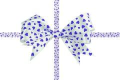 Ribbon bow isolated on white background Stock Photography