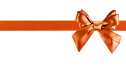 Ribbon bow like a gift Stock Image