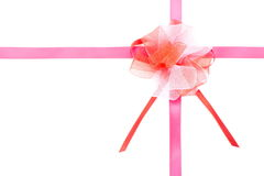 Ribbon bow Stock Image