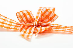 Ribbon bow Royalty Free Stock Photo