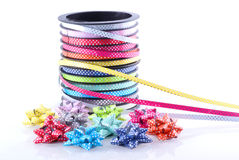 Ribbon and bows. Stock Images