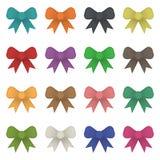 Ribbon bows Royalty Free Stock Image