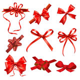 Ribbon bows Stock Image