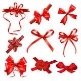Ribbon bows stock image