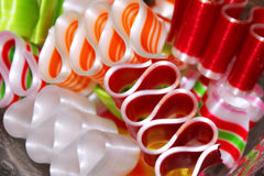 Ribbon candy Royalty Free Stock Photo