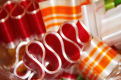 Ribbon candy Stock Photos