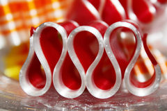 Ribbon candy Stock Photography