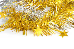 Ribbon for christmas decorate Stock Photos