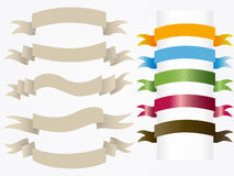 Ribbon. Classic  illustration background Royalty Free Stock Photography