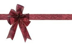 Ribbon with clipping path Royalty Free Stock Photos