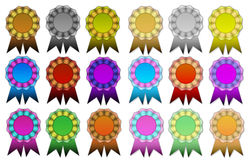 Ribbon Collection Stock Photography