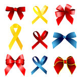 Ribbon collection Royalty Free Stock Image