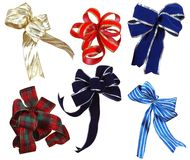Ribbon collection. Stock Images