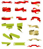 Ribbon collection Stock Image