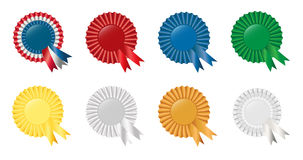 Ribbon collection set Royalty Free Stock Photography