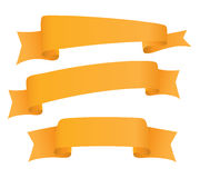 Ribbon collection. On a white background Stock Image