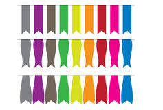 Ribbon collections Royalty Free Stock Images
