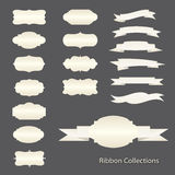 Ribbon collections Stock Photography