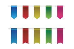 Ribbon collections design Stock Photos