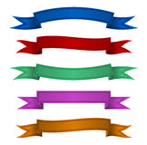 Ribbon color Stock Photos