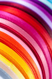 Ribbon colors (1). Ribbon colors on roll (1 Stock Photography