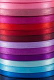 Ribbon colors (2). Ribbon colors on roll (2 Stock Photography