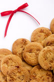Ribbon with cookies Stock Photography