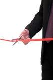 Ribbon cutting Stock Photography