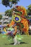Ribbon Dancer. Event:  2015 Inter-tribal Pow Wow Stock Photo