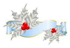 Ribbon is decorated for christmastides Stock Photo