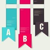 Ribbon Design element. Royalty Free Stock Image