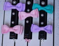 ribbon dream piano Stock Photo
